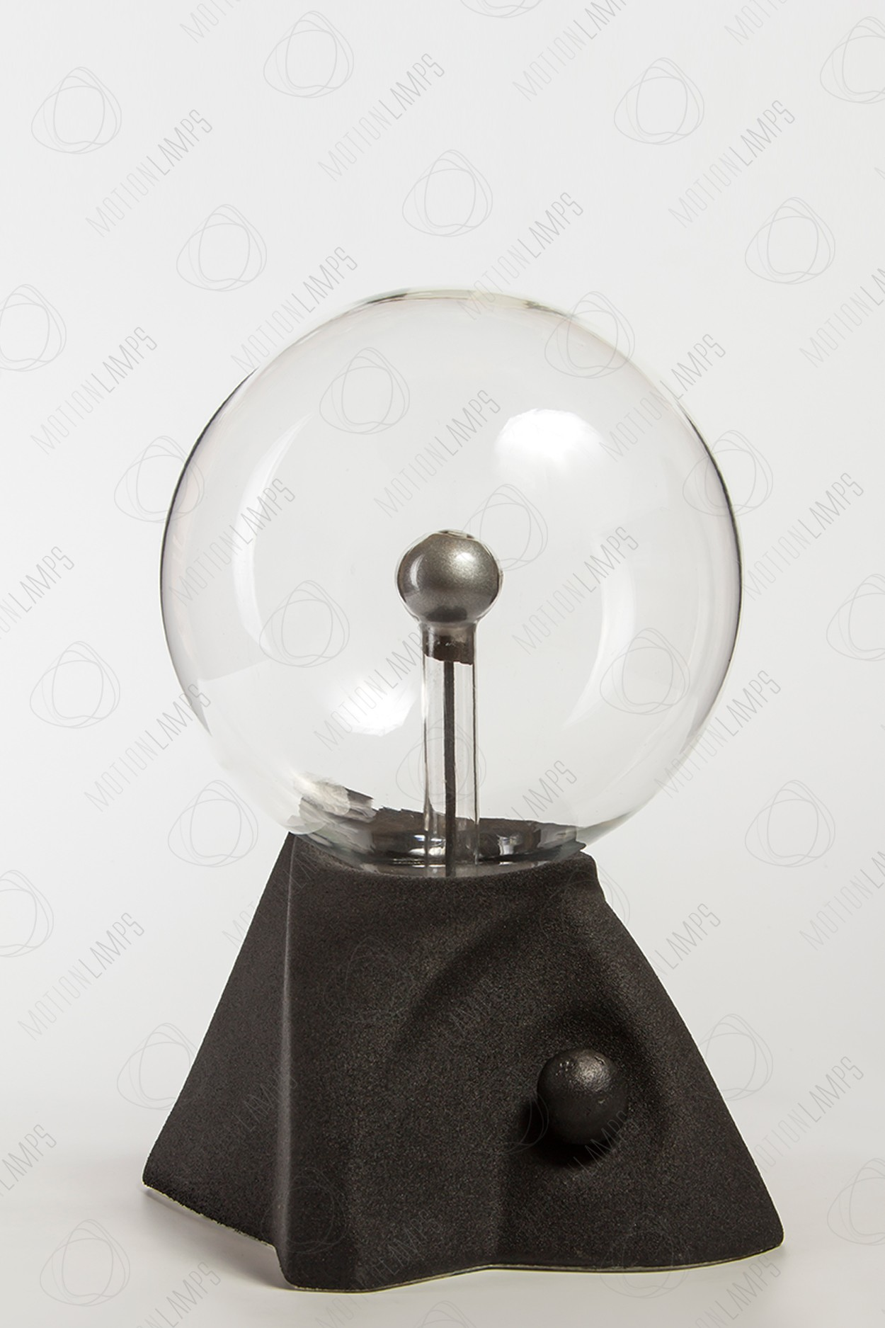 """Плазменный шар """"Пирамида"""" (16см) черный"""