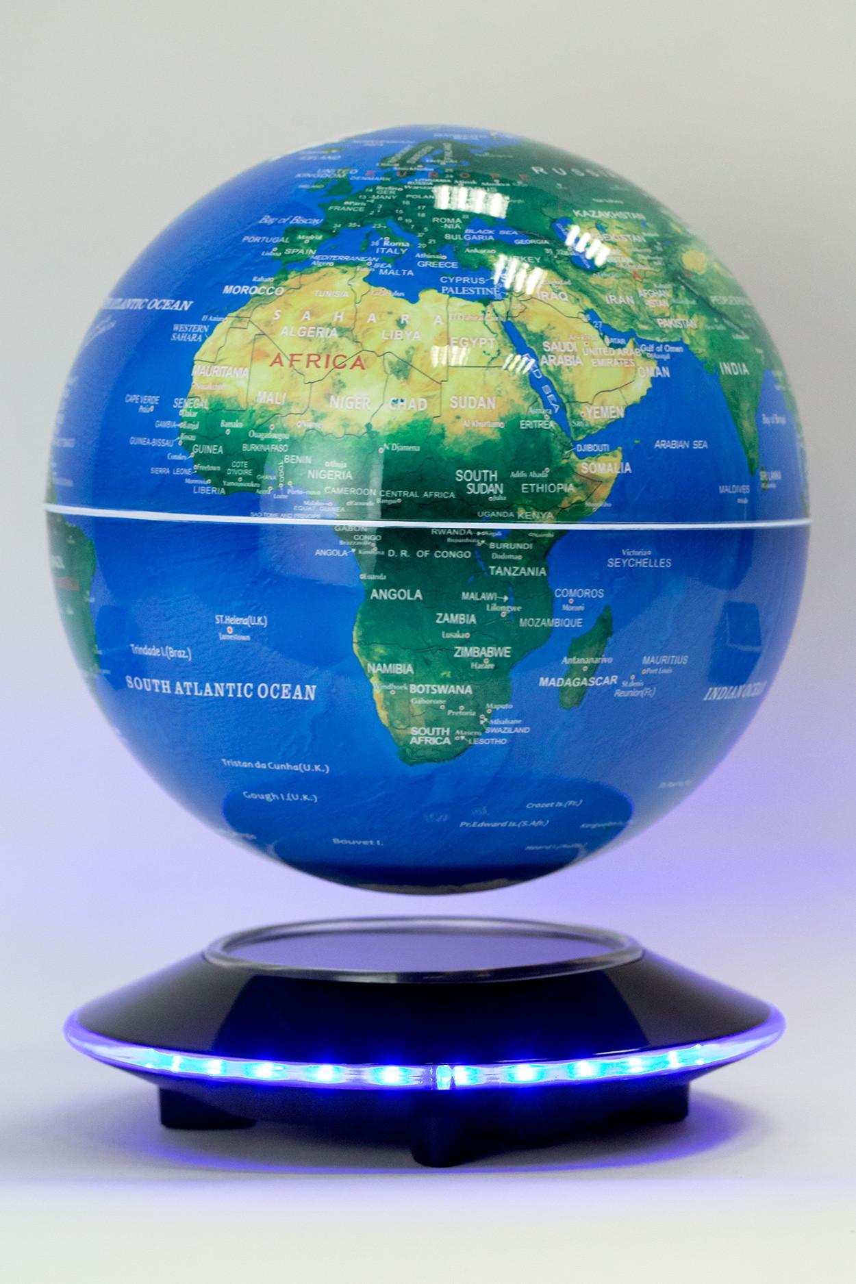 Левитирующий глобус Земля из космоса (D-20 см)
