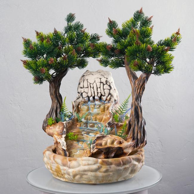 Настольный фонтан «Сосны» 42 см
