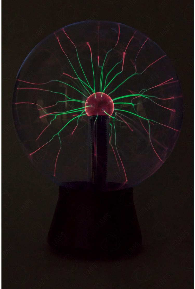 Уцененный товар! Плазменный шар Greentech 30см (Тесла)