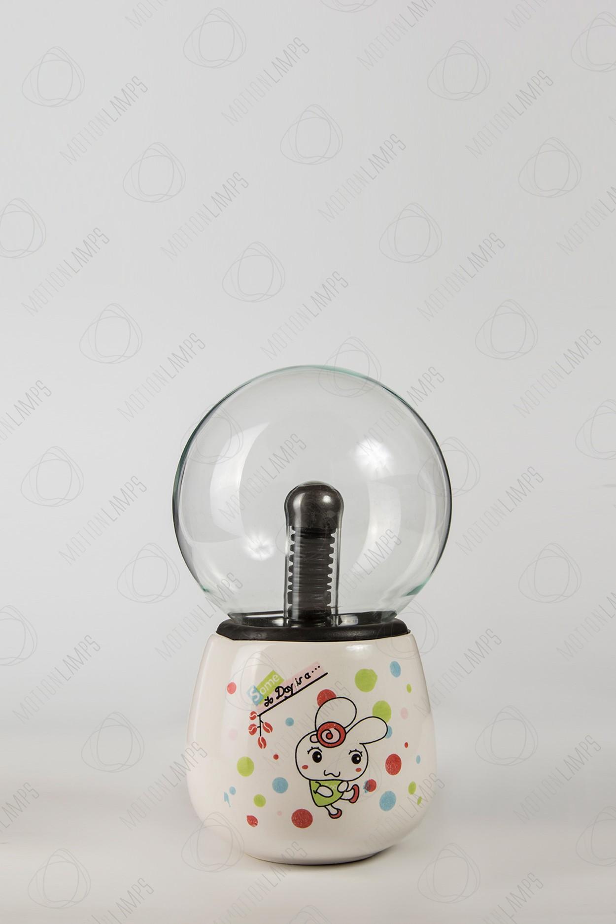 Керамический плазменный шар Тесла Rabbit (D -10см)