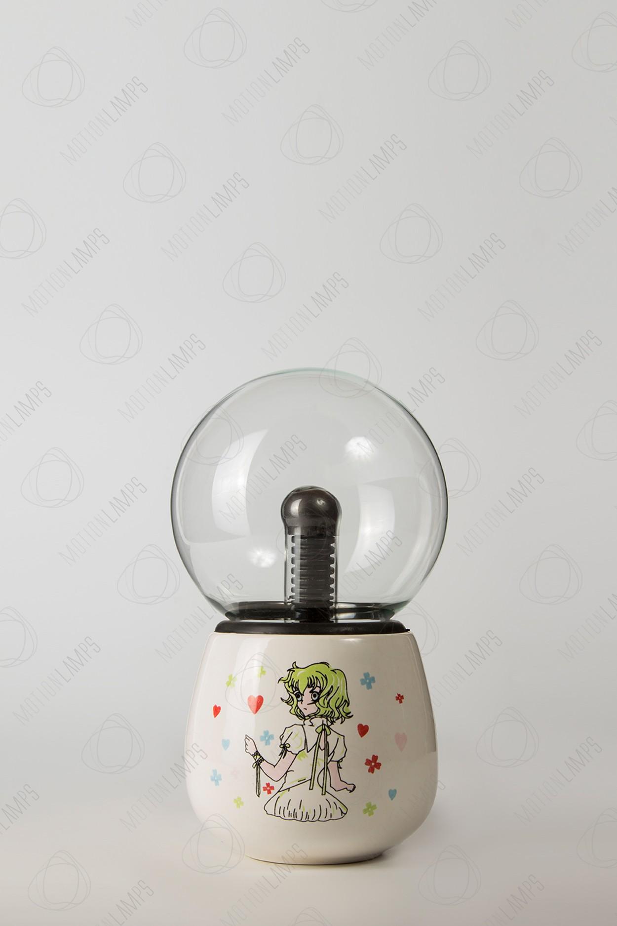 Керамический плазменный шар Тесла Girl2 (D -10см)