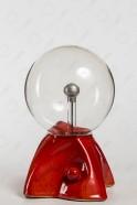 """Плазменный шар """"Пирамида"""" (16см) оранжевый"""