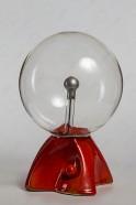 """Плазменный шар """"Пирамида"""" (21см) оранжевый"""