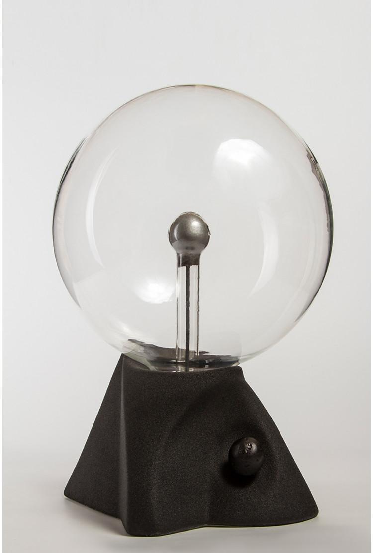 """Плазменный шар """"Пирамида"""" (21см) черный"""