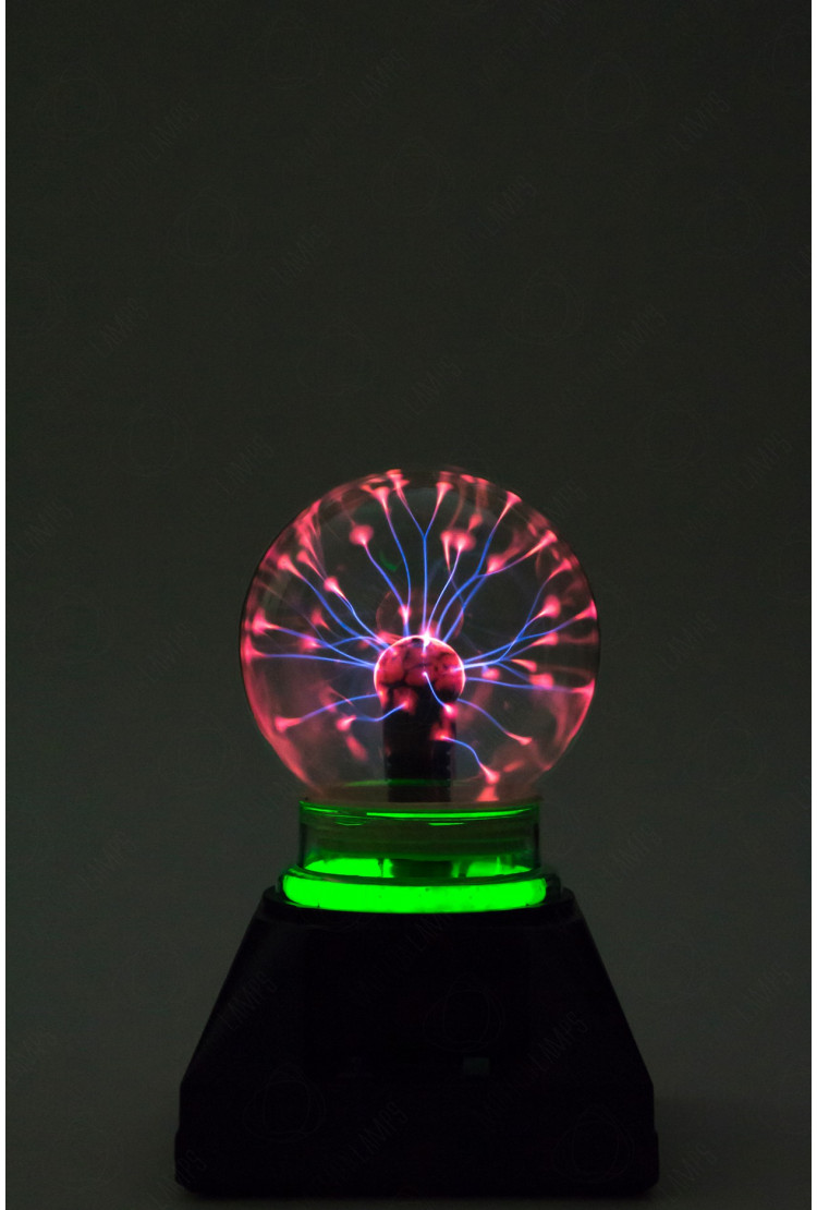 Электрический плазменный шар Тесла (D - 10см) Green