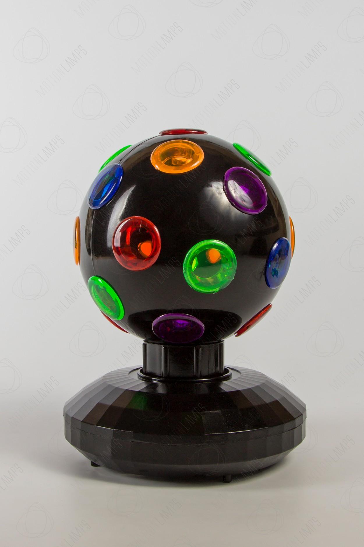 Проекционный диско шар 10СМ вращающийся