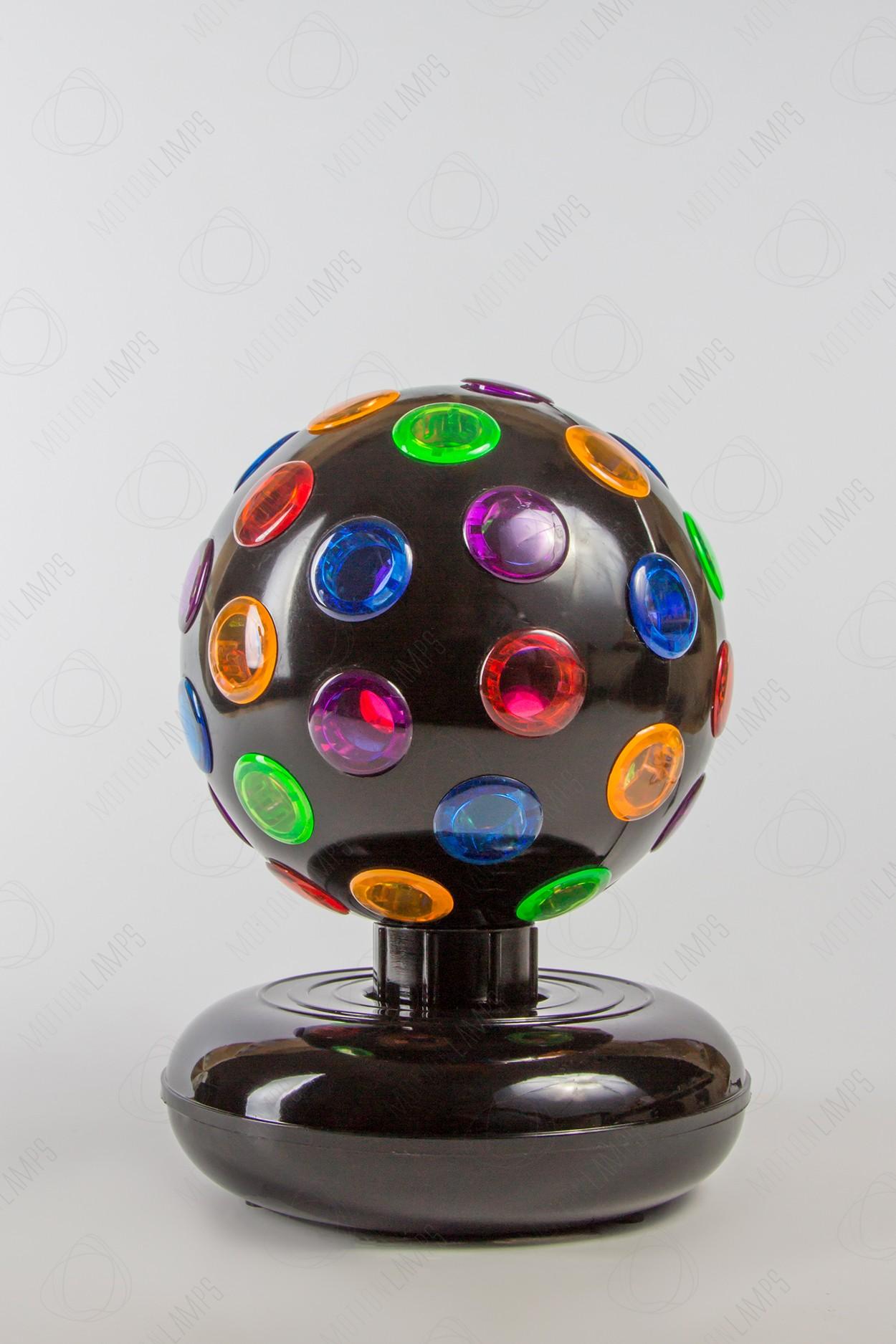Проекционный диско шар 15СМ вращающийся