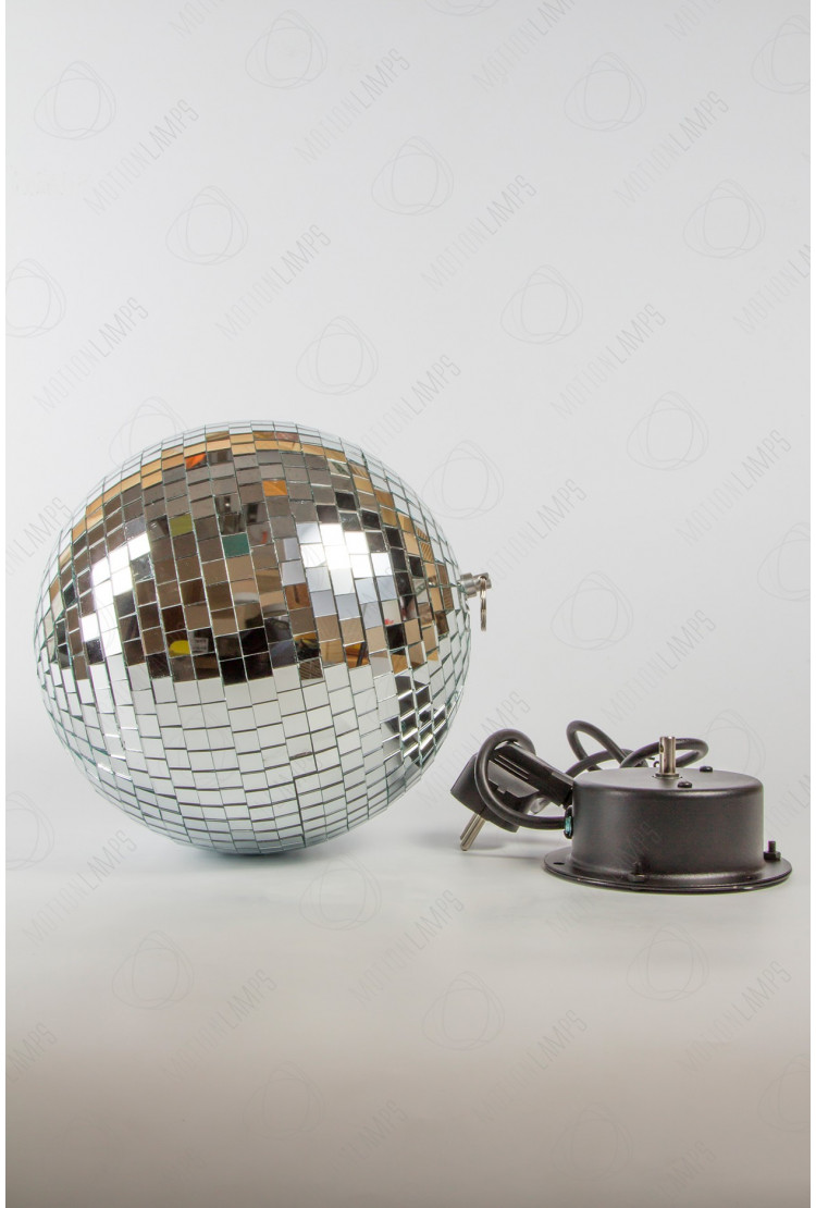 Подвесной диско шар 20см с мотором