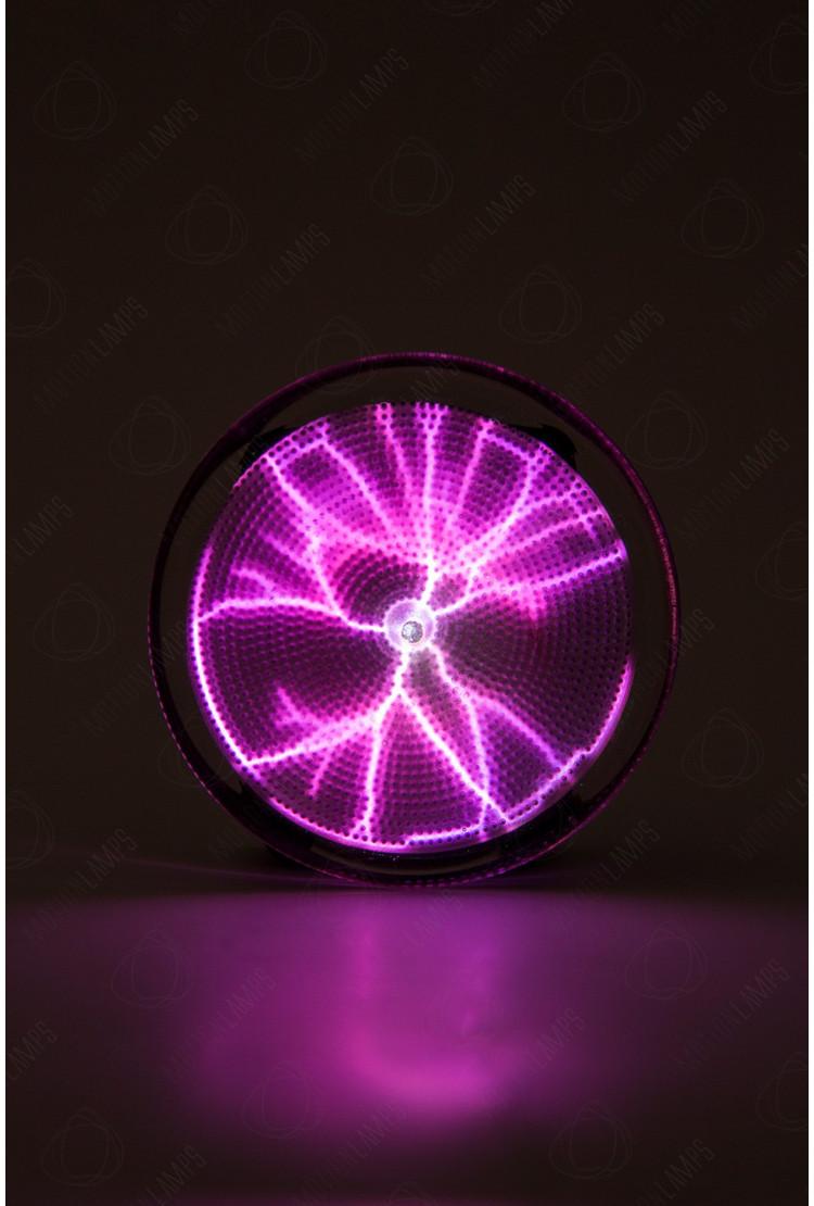 Карманный плазменный диск Тесла Розовый (Pocket) D - 7см