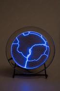 Электрический плазменный диск Тесла Синий D - 15см