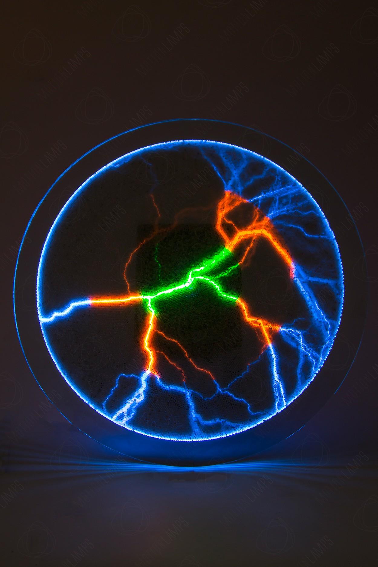 Электрический плазменный диск Rainbow (Giant) D - 40см