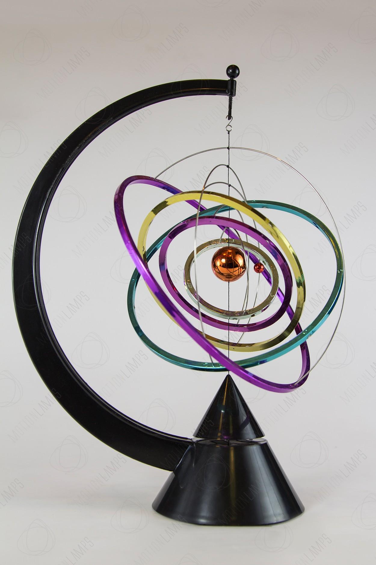 """Настольный магнитный маятник """"Атом"""" Rainbow 31см"""