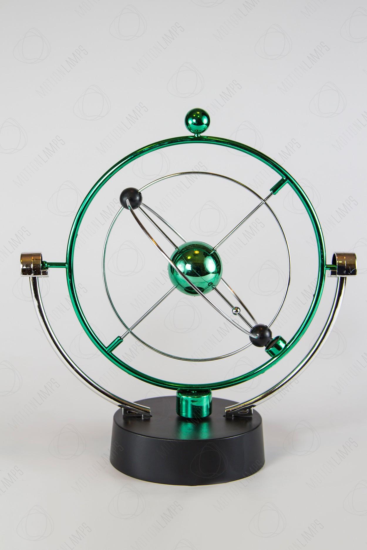 """Настольный магнитный маятник """"Космос"""" Green 25см"""