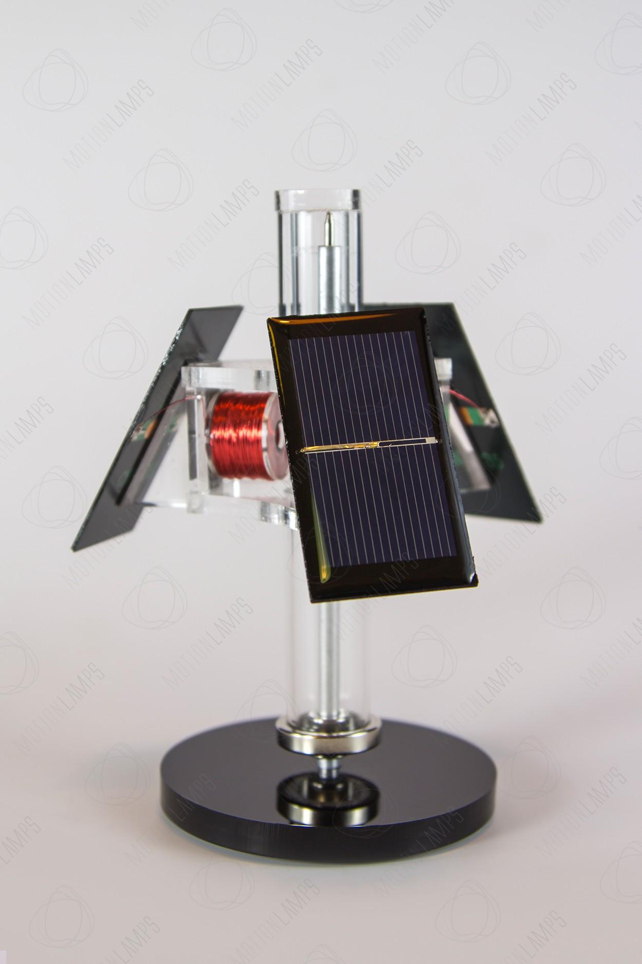 Вечный двигатель на солнечных батареях (мельница)