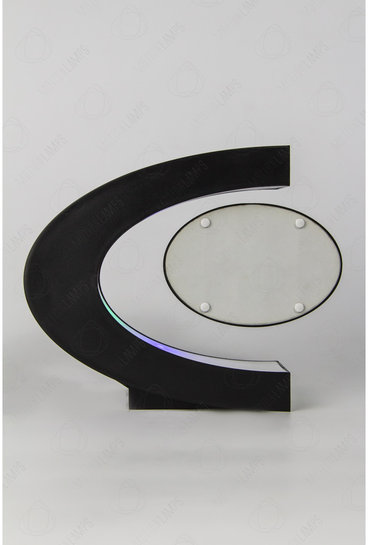 Левитирующая фото-рамка Овал в С-образной рамке