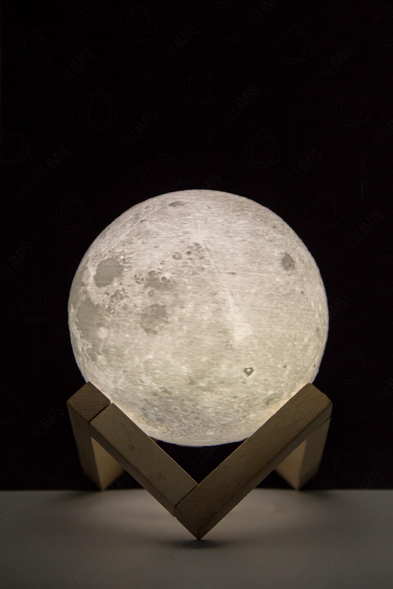 Ночник луна 12см