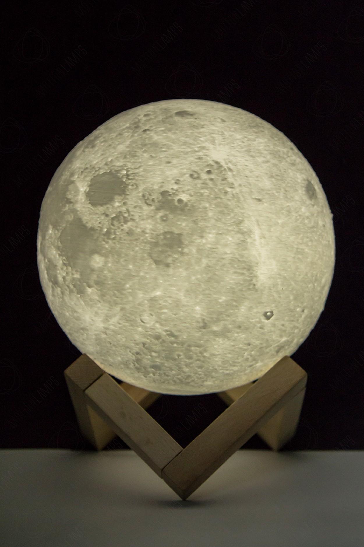 Ночник луна 15см