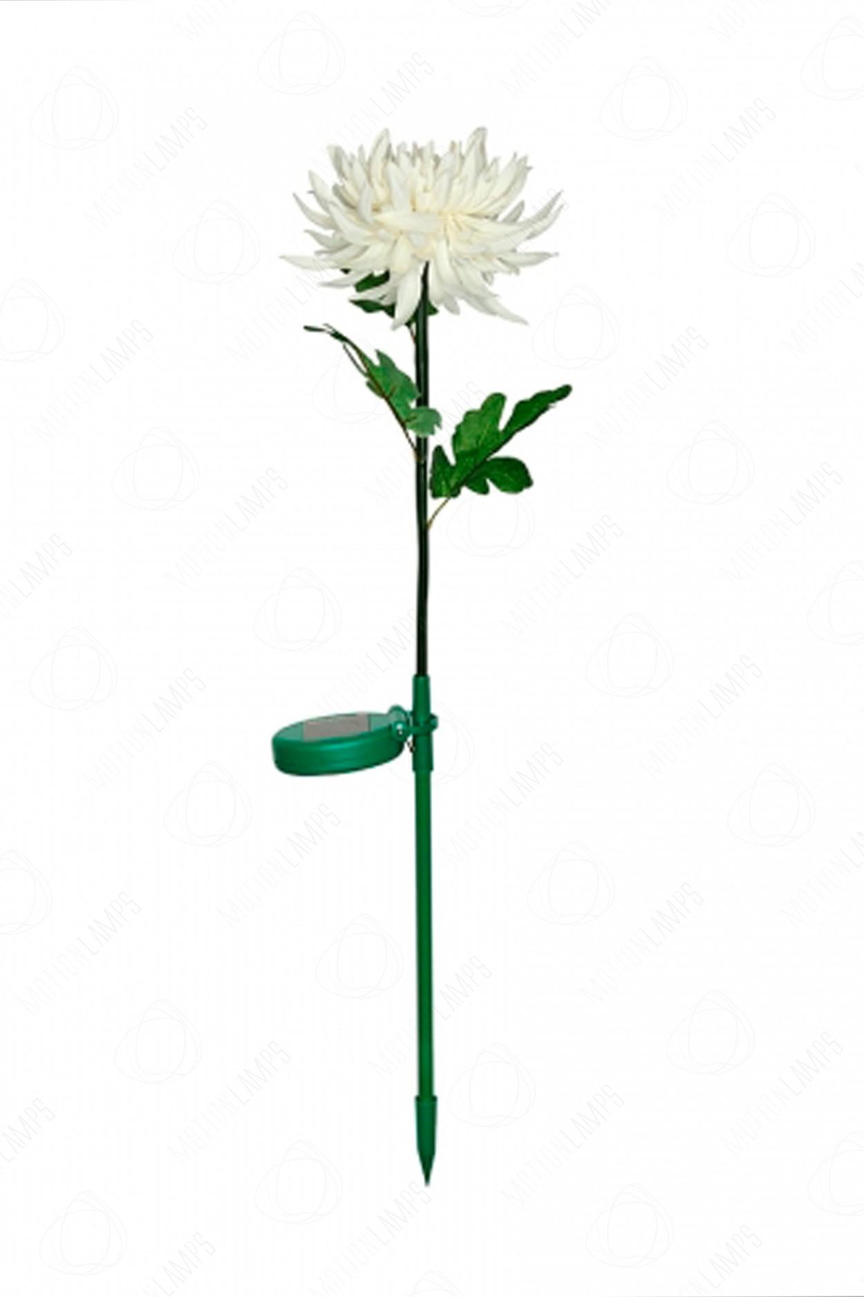 Светодиодный светильник Хризантема белая садовая