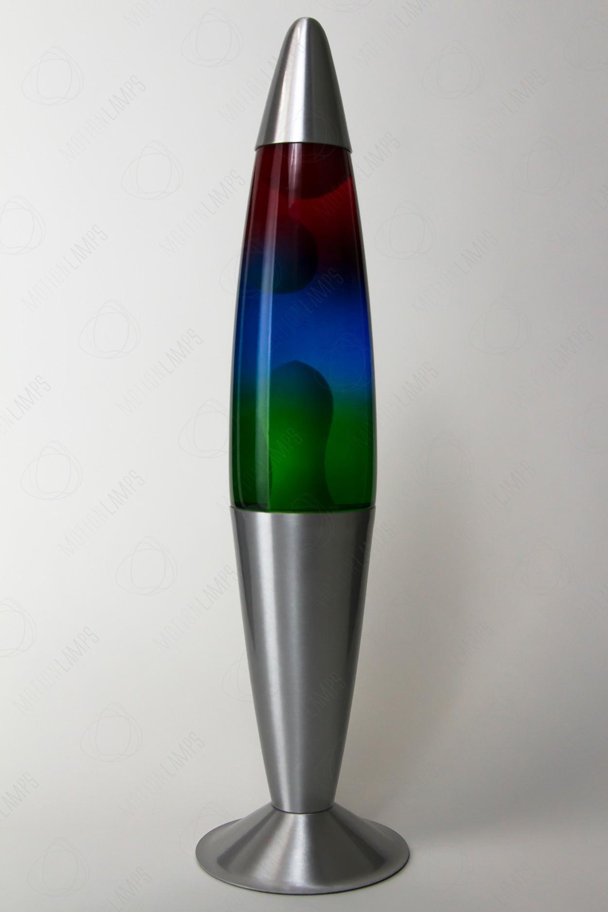 Лава-лампа 41см Rainbow (Воск)