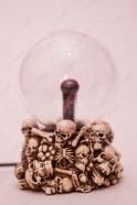 Электрический плазменный шар Черепушки (D -12см)