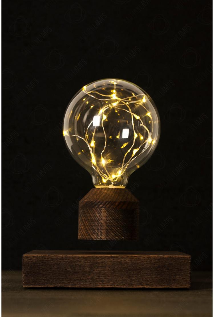 Левитирующая лампочка Lesvet Cosmic (венге)