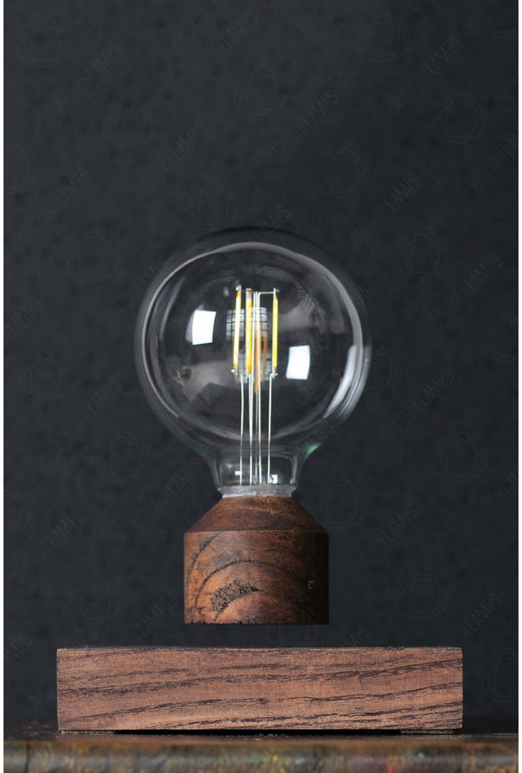 Летающая лампочка Lesvet Classic (венге)