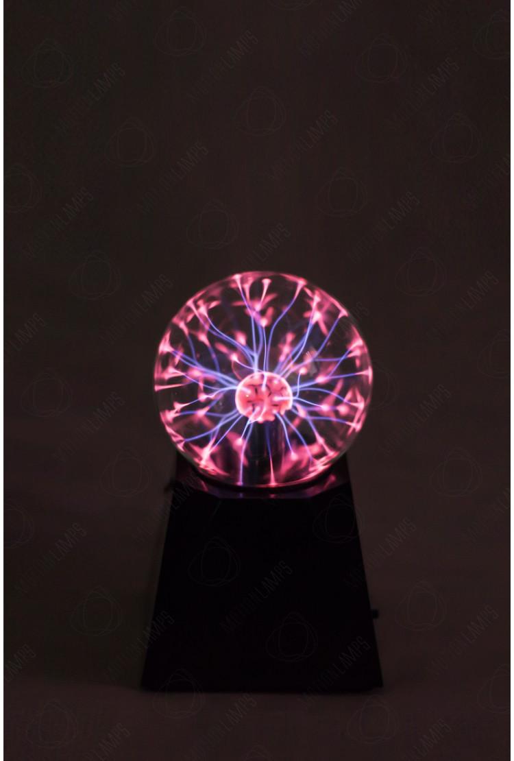 Светильник магический плазменный шар (D - 10см)