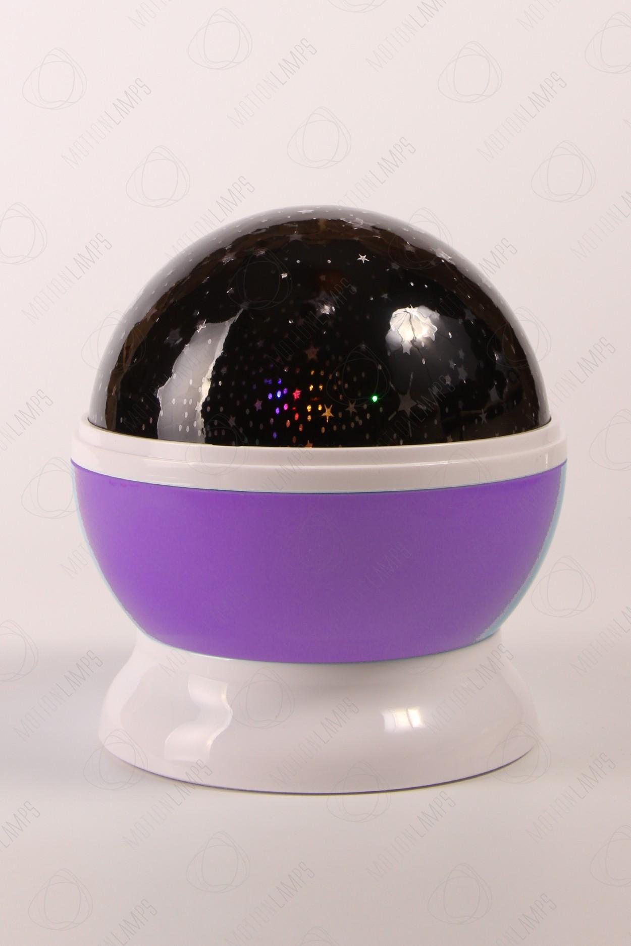 Ночник-проектор звездного неба «Dream» фиолетовый