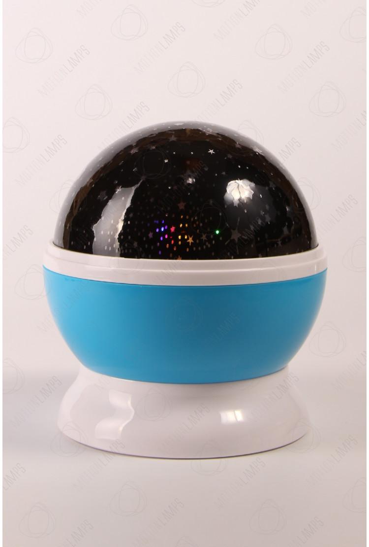 Ночник-проектор звездного неба «Dream» синий