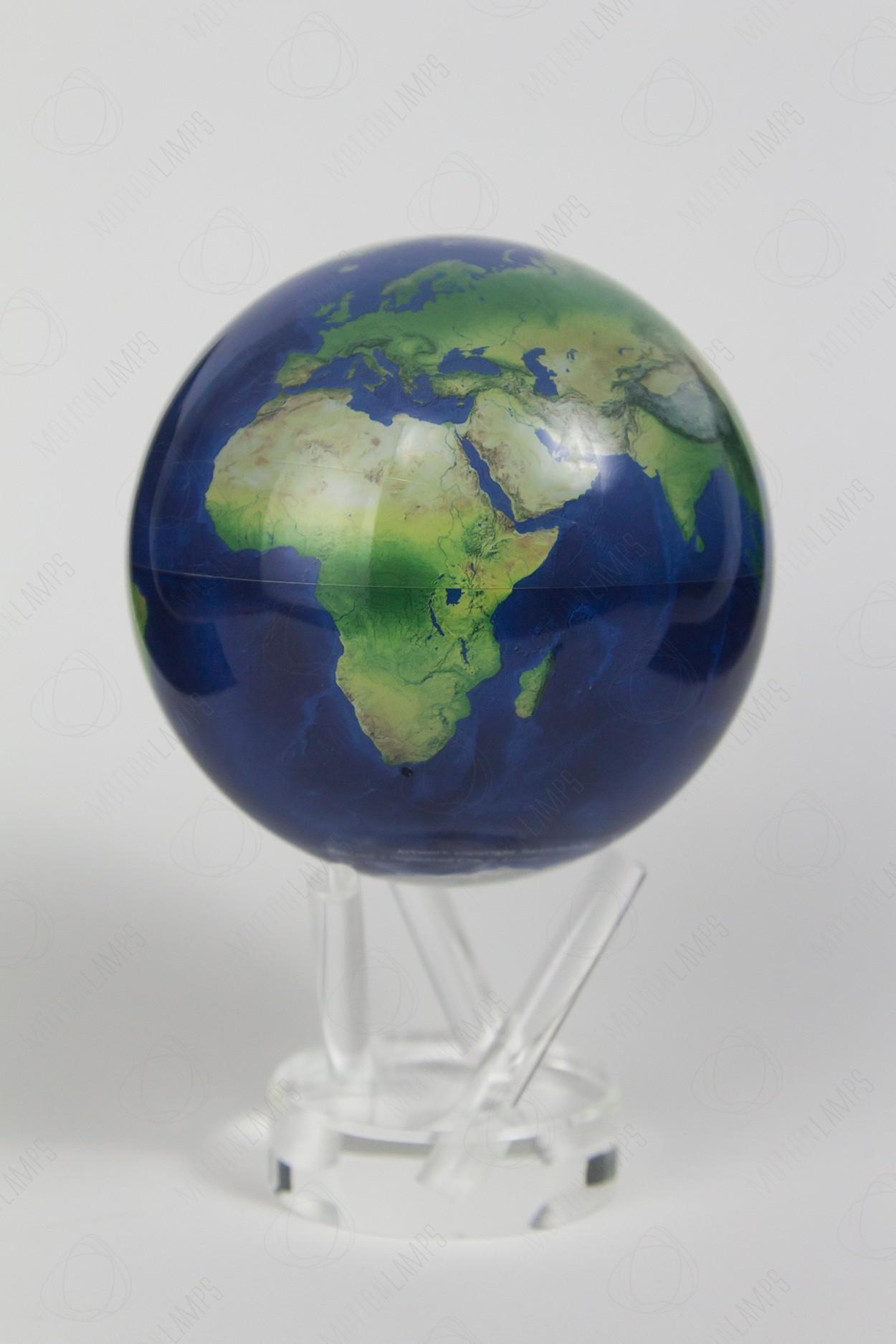 Самовращающийся глобус Mova d12 Земля из космоса