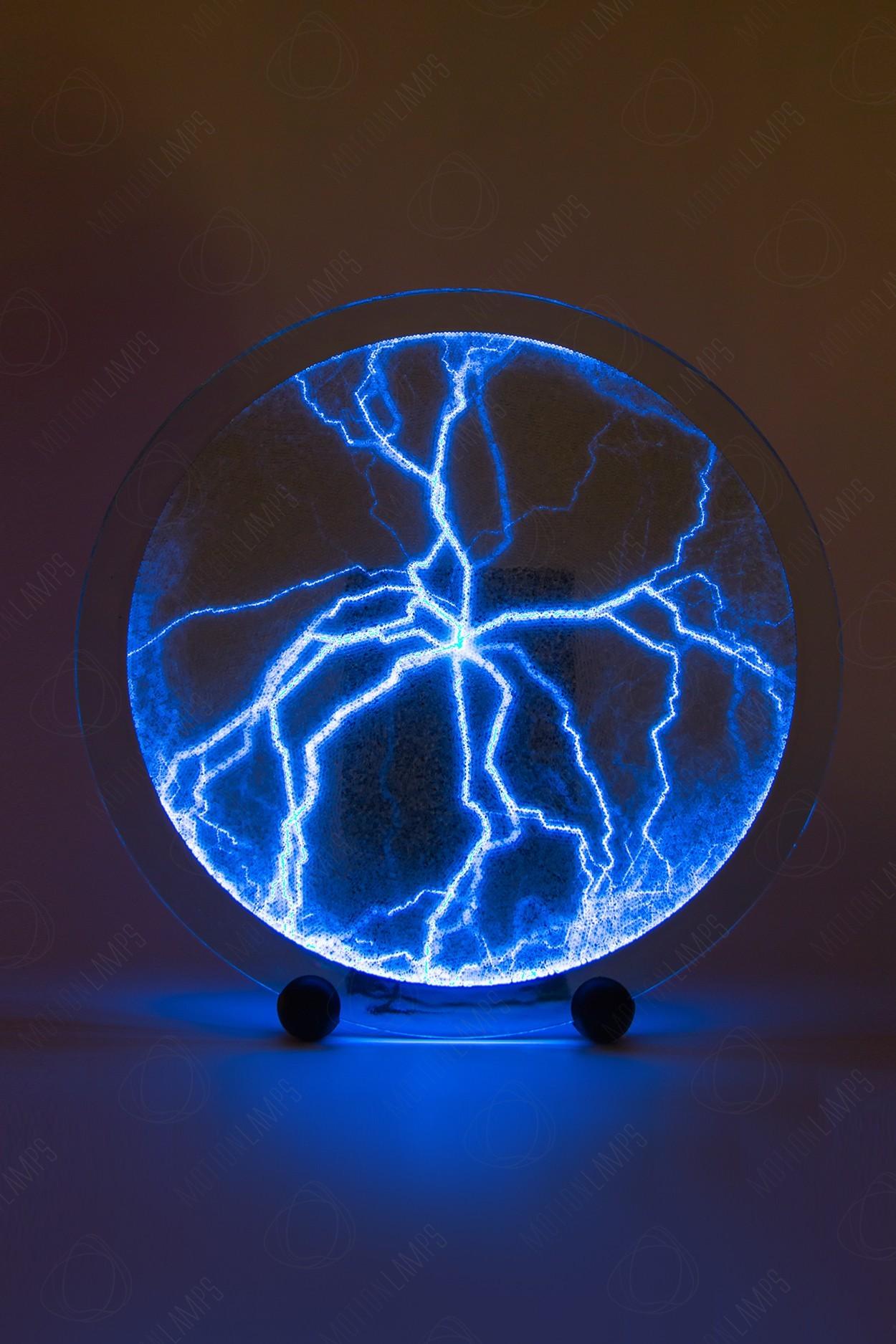 Электрический плазменный диск синий (Giant) D - 40см