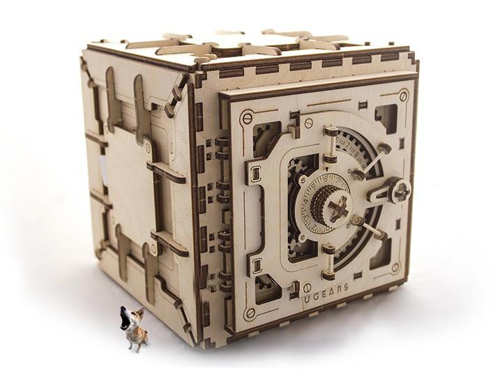 Конструктор 3D-пазл Ugears - Сейф