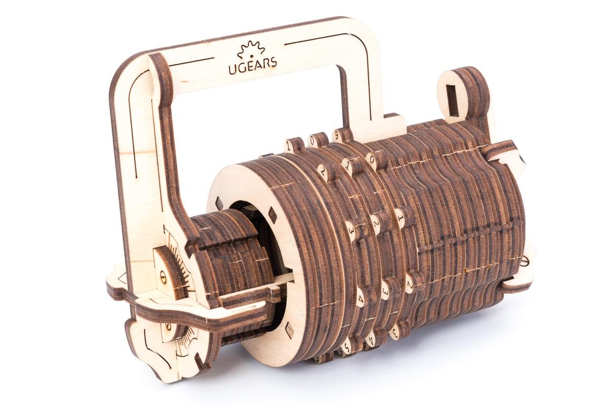 Конструктор 3D-пазл Ugears Кодовый Замок