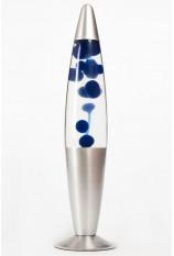 Лава-лампа 41см Синяя/Прозрачная