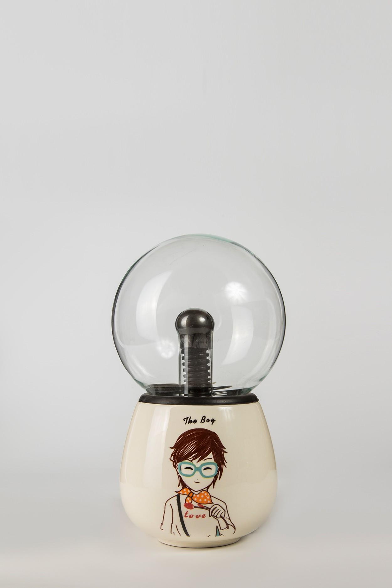 Керамический плазменный шар Тесла Boy (D -10см)