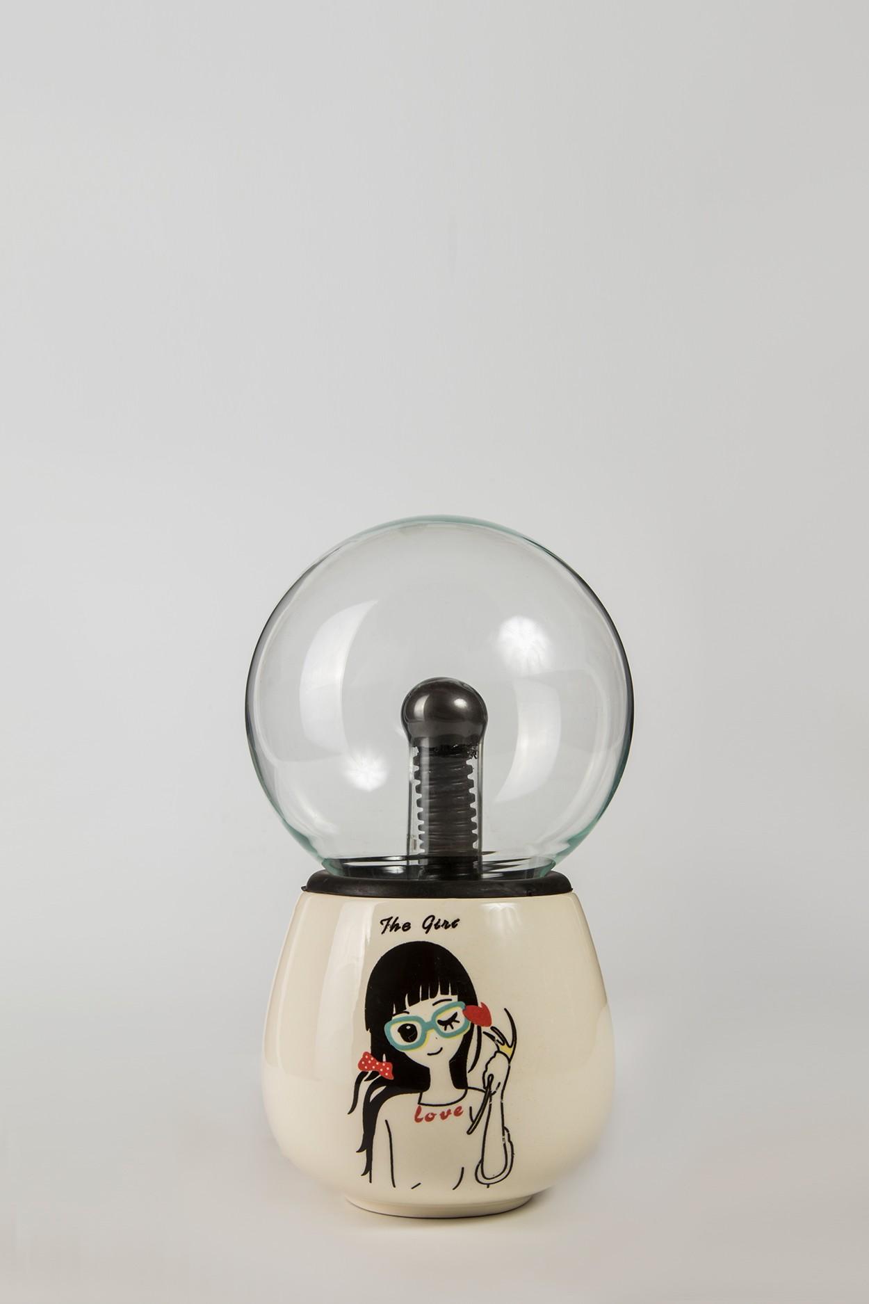 Керамический плазменный шар Тесла Girl (D -12см)