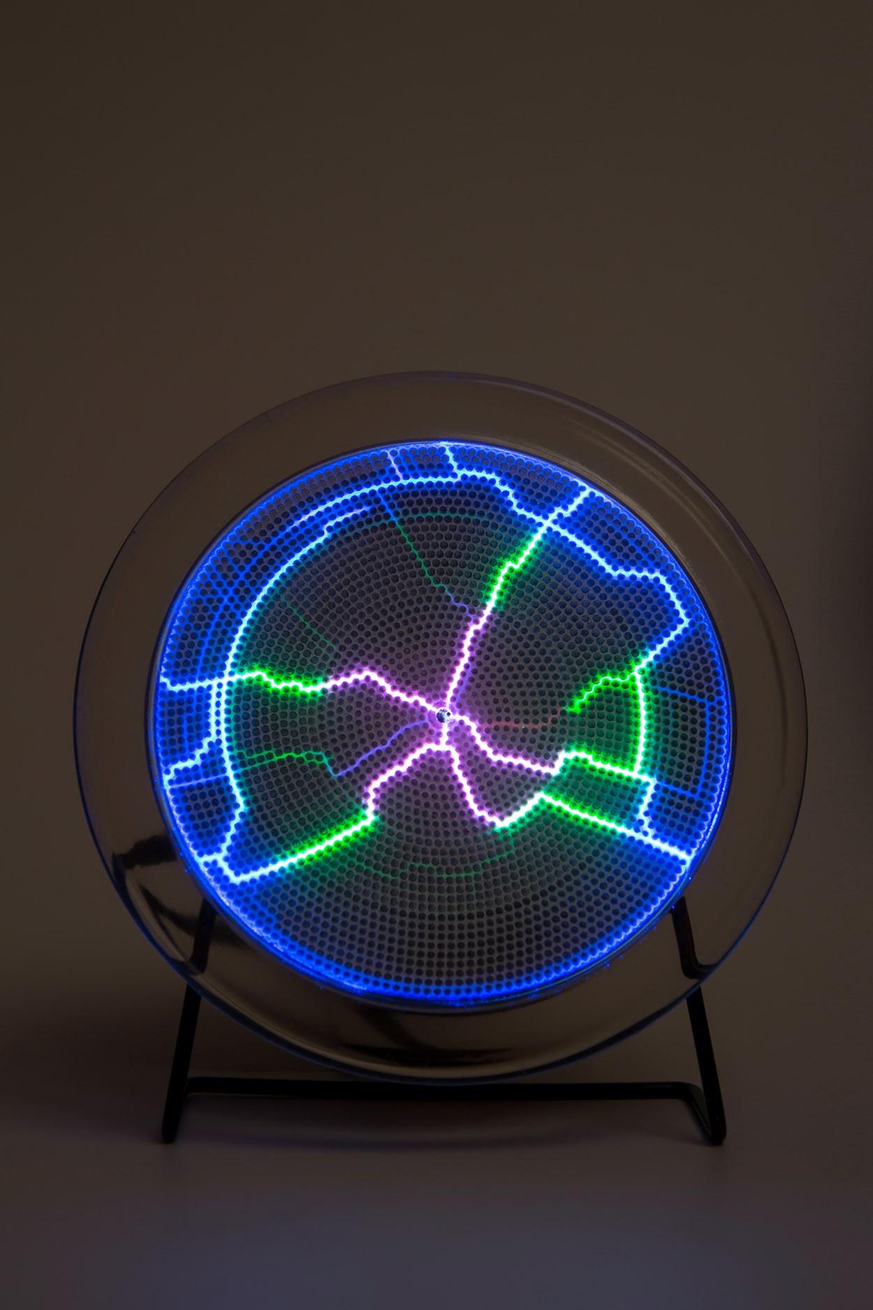 Электрический плазменный диск Тесла Rainbow D - 15см