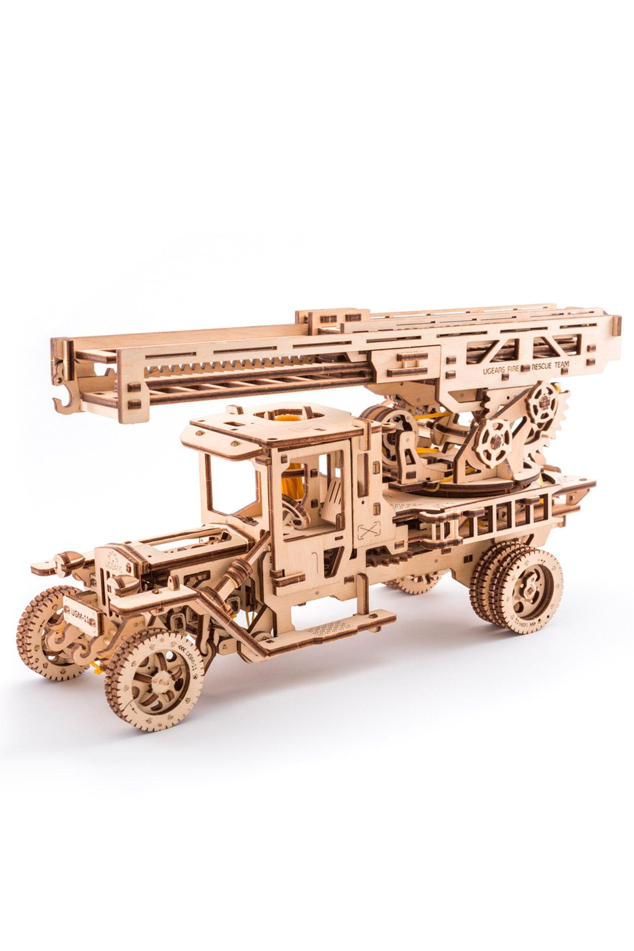 Конструктор 3D-пазл Ugears Пожарная лестница