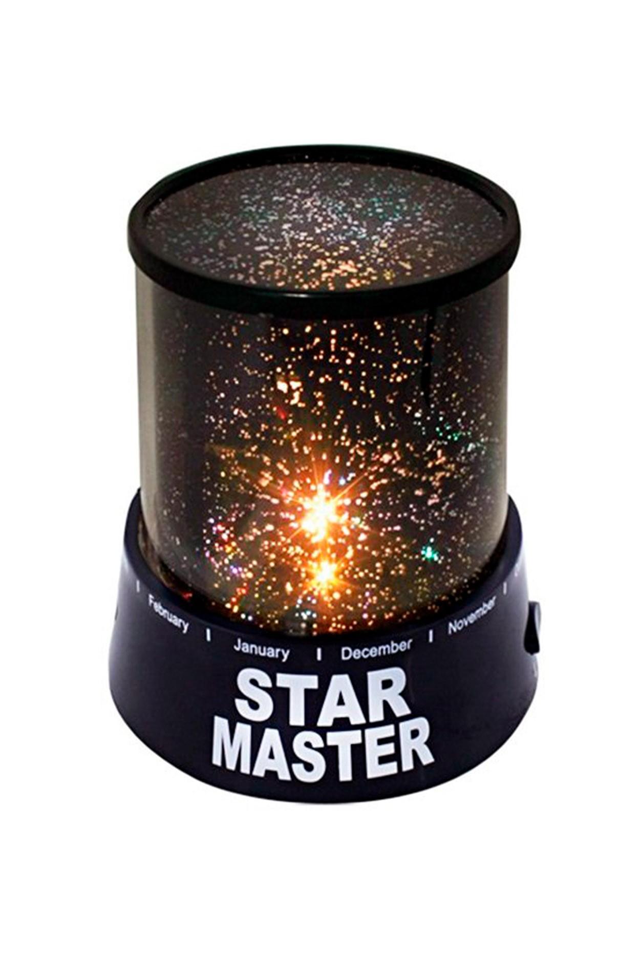 Ночник-проектор звездного неба «Star Master» (с адаптером)