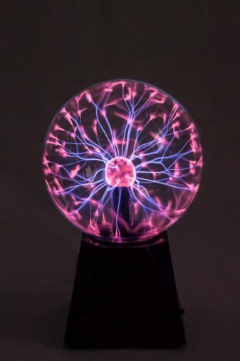 Светильник магический плазменный шар (D - 15см)