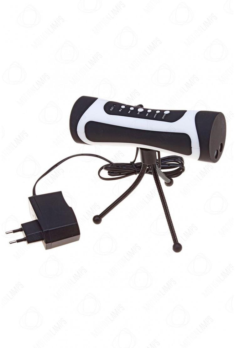 Портативный лазерный проектор с Fm