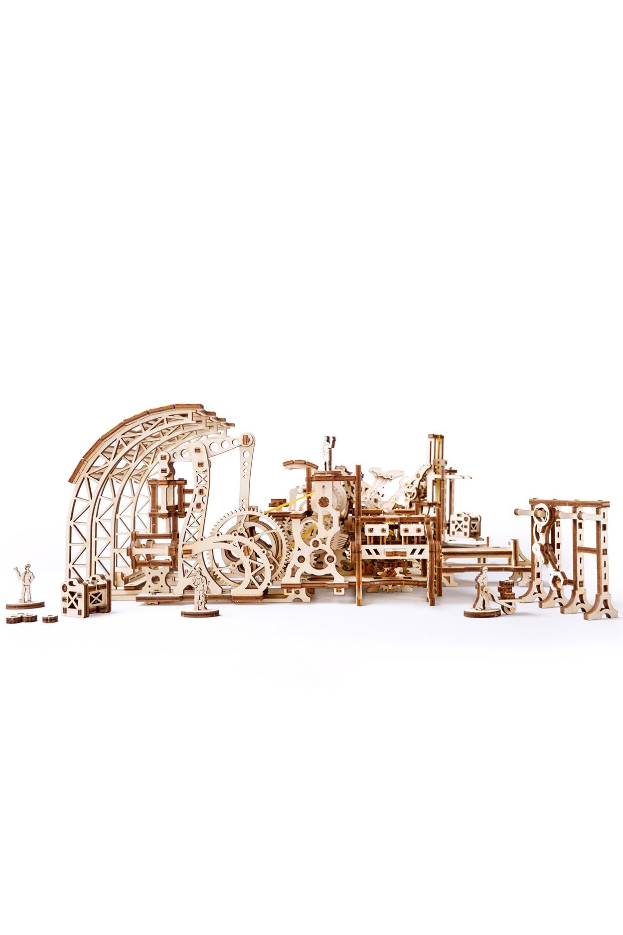 Конструктор 3D-пазл Ugears Фабрика роботов