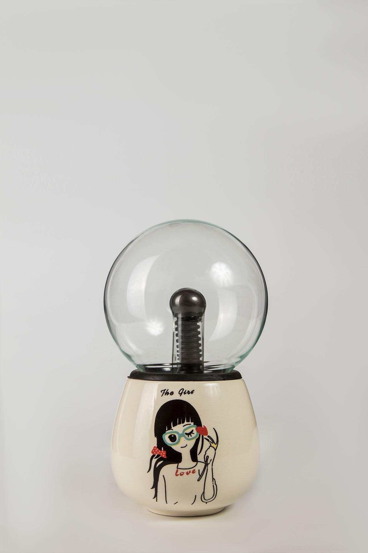 Керамический плазменный шар Тесла Girl (D -10см)