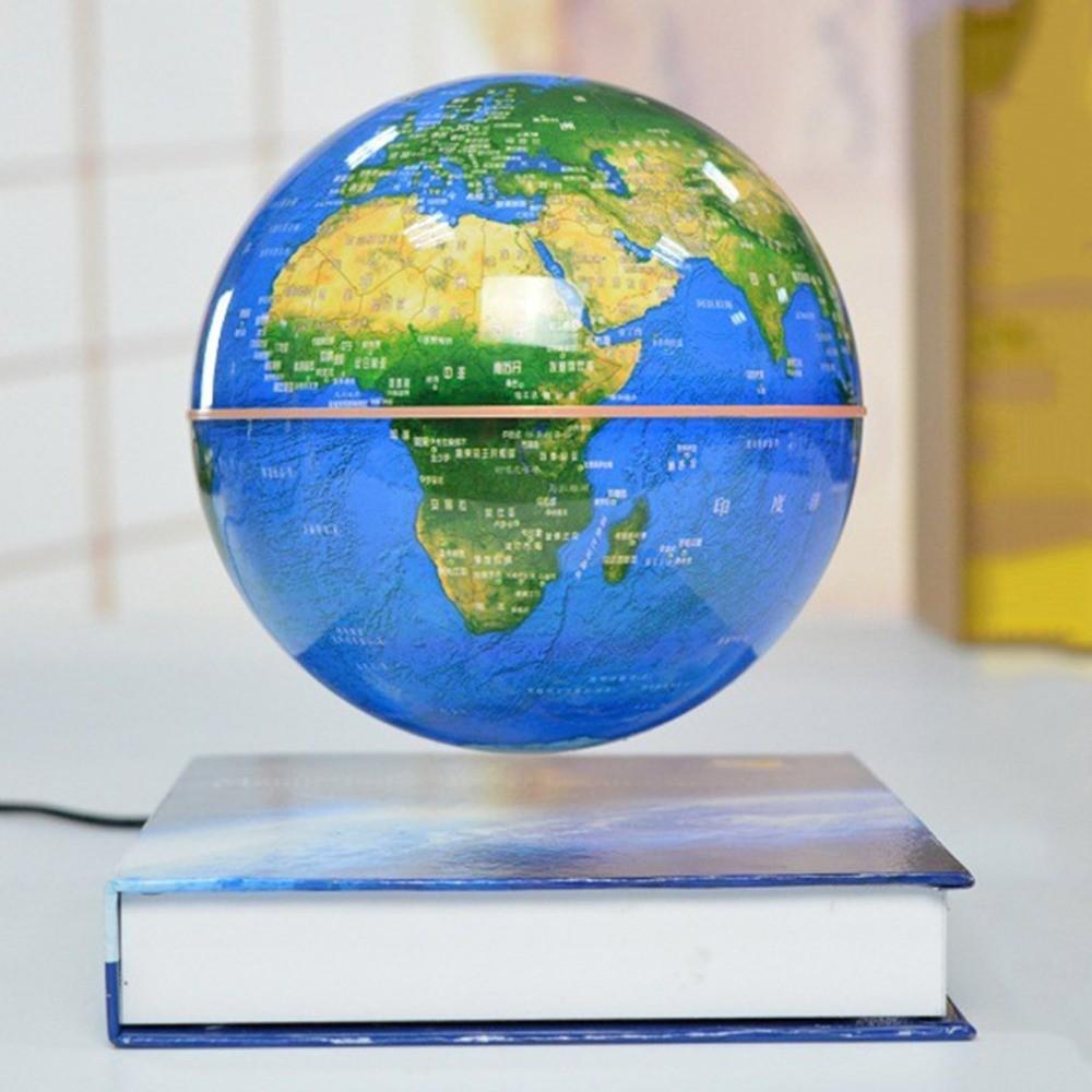 Левитирующий глобус на книге Земля (D-14см)