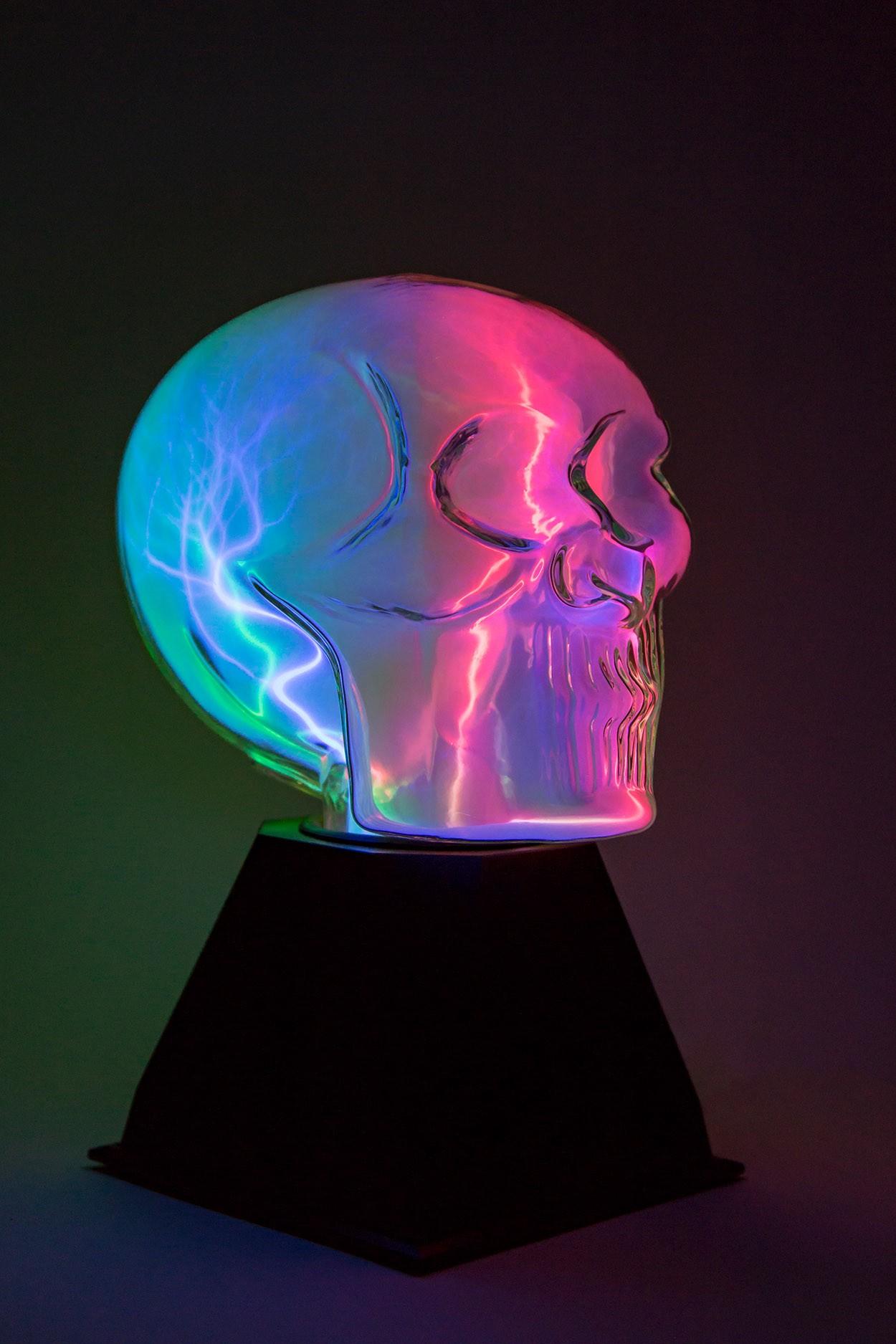 Плазменный шар Череп (Аудио)