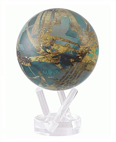Глобус самовращающийся MOVA GLOBE d16,5 см ТИТАН