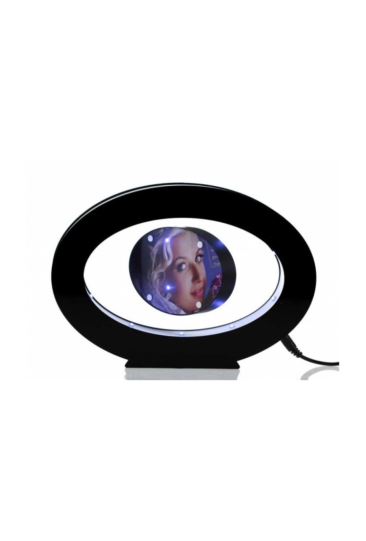 Овальная левитирующая фото-рамка