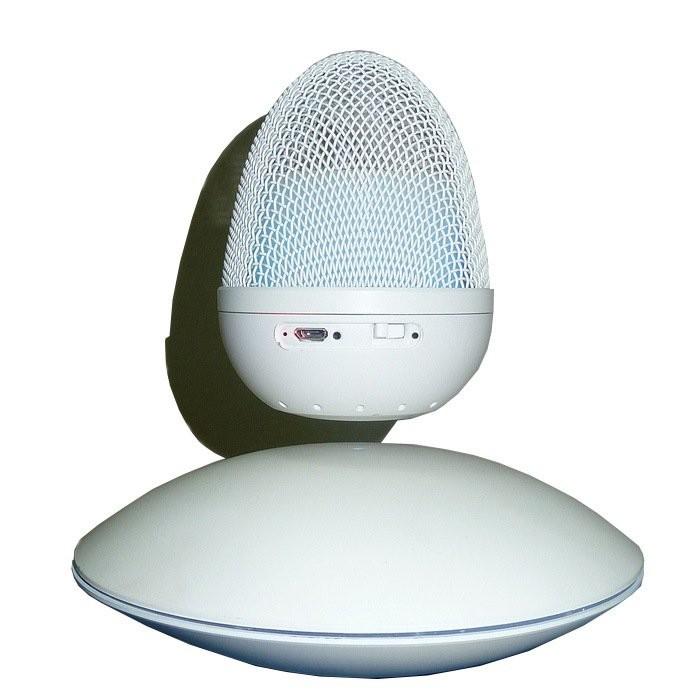 Левитирующая Bluetooth колонка (белая)