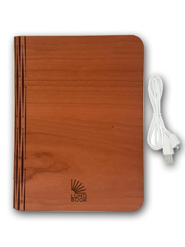 Светильник книга Lumobook (вишня)